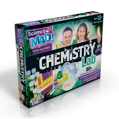 Science Mad Chemistry Lab Activity Set • 28.99£