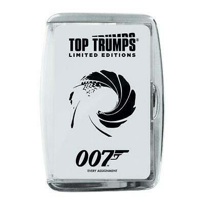 James Bond 007 Top Trumps 'Every Assignment' 2020 Edition Card Game • 5.99£