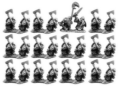 Copplestone Castings - TM21 - 10mm Dwarfs With Axes • 5.75£