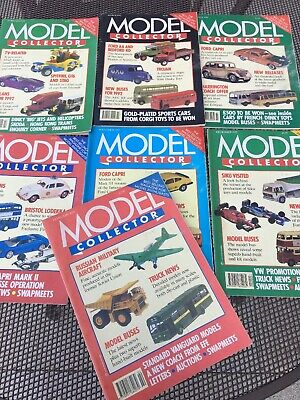7 Model Collector Magazines • 10£
