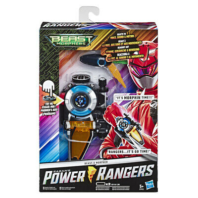 Power Rangers Beast Morphers Beast-X Morpher With Lights And Sounds • 24.99£