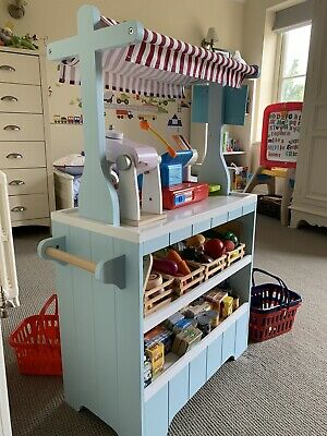 Great Little Trading Co Devon Market Stall With Groceries • 70£