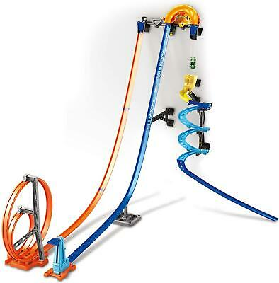Hot Wheels Track Builder Vertical Launch Kit Toy Car Construction Set • 39.99£