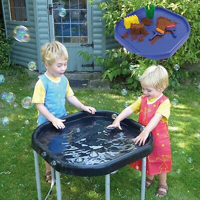 Kub® Ultimate Childrens Tuff Tray And Stand (Blue) - Made In The UK - 3 Heights • 39.99£