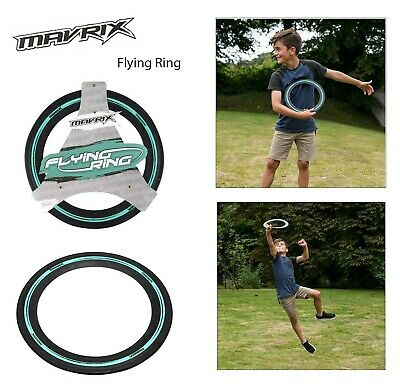 Mavrix Flying Rubber Ring Aerobie Frisbee Outdoor Toy Camping Kids Beach Holiday • 6.99£