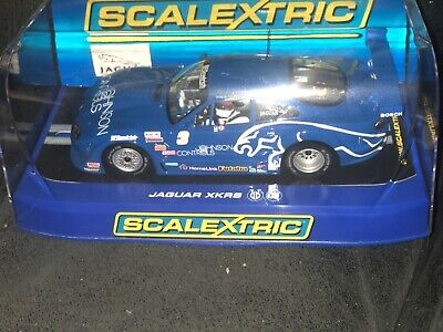 Mint Boxed SCALEXTRIC C2908 JAGUAR XKRS ROCKET MOTRSPORTS #3  • 39.99£