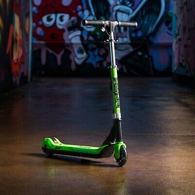 XOOTZ Element Green Electric Scooter For Kids, Outdoor Toy, Folds In Half  • 89.99£