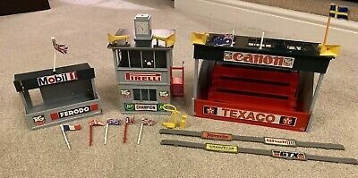 Scalextric Job Lot Vintage / Classic Pit Lane Buildings  • 45£