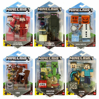 Minecraft Earth Comic Maker 3.25 Inch Action Mini Figures Toy - You Choose • 12.49£