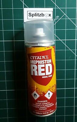 Games Workshop Hobby. AoS/ 40k  Undercoat Mephiston Red Paint.  • 11.50£