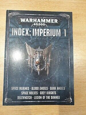 Games Workshop Index Imperium 1 • 12£