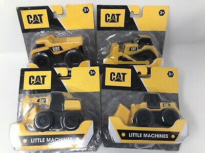 CAT Little Machines Digger -Truck -Bulldozer -Front Loader - Play 3+ New On Card • 15.99£