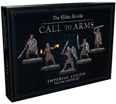 The Elder Scrolls Call To Arms | Imperial Legion Faction Starter Set New • 19.99£