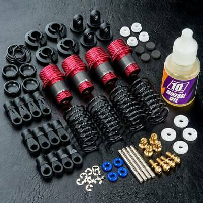 MST 1/10 Scale RC Drift Car TR56 Aluminium Damper/Shocks Set #820120 • 62.99£