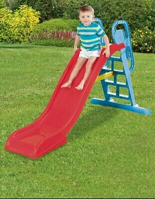 Kids Slide With Water Feature Kids Outdoor Fun 6.5ft Water Slide Red  • 99.99£