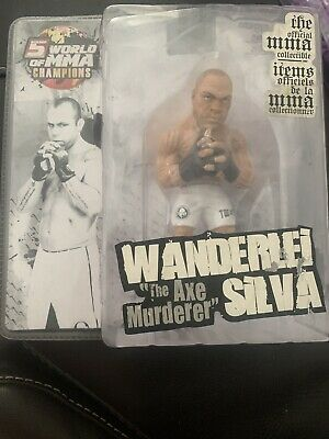Round 5 Wanderlei Silva Action Figure World Of MMA Champions Series • 32£