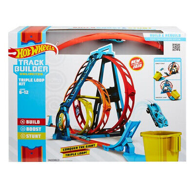 Hot Wheels Track Builder Unlimited Triple Loop Set • 31.99£