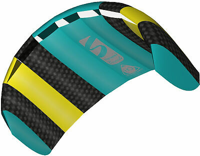 HQ Power Kite Symphony Beach III 1.3 Mtr Aqua Ready To Fly Outdoor Package • 29.99£