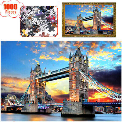 1000 Pieces Children Adult Kids Puzzles Educational Toy Decoration Jigsaw Puzzle • 8.96£