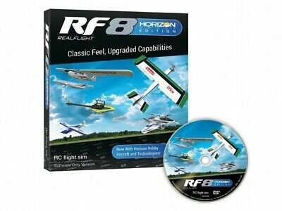 RealFlight RF8 Software Only Horizon Hobby Edition With Spectrum Wireless Dongle • 154.99£