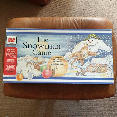 THE SNOWMAN GAME - Rare 1987 Vintage Game By PIC GAME - VGC Complete • 37.99£