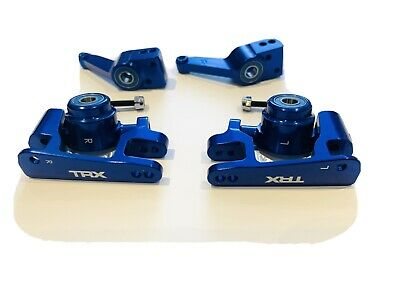 Traxxas Slash Aluminium Acel Carriers Bushing Hub Set • 75£