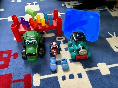 Toddler Toy Bundle-Tomy,Disney Cars • 20£