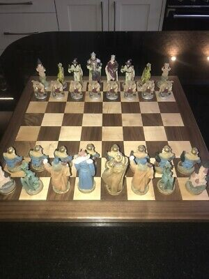 Fantasy Chess Set - Wizards And Dragons • 40£
