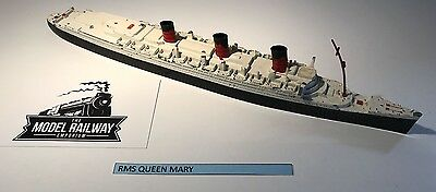 Vintage - Triang Minic Ships - M703 - Rms Queen Mary - Diecast Unboxed Rarity • 59.50£
