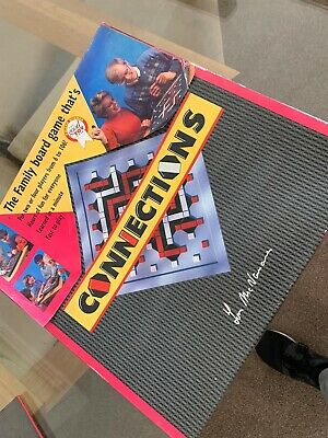 Connections Board Game (RARE/VINTAGE) Complete By  Tom McNamara • 14.95£