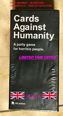 Cards Against Humanity UK V2.0 Latest Edition New Sealed 600 Cards FREE UK POST • 14.99£