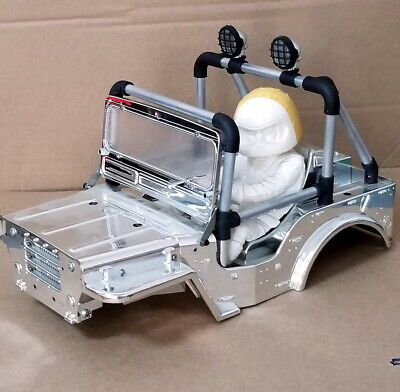 Aluminum Rool Bar With LED Light For TAMIYA WR-02 Wild Willy 2 • 27.99£