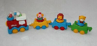 Rare Vintage Chicco Push Along Circus Toy Train For Baby/toddler • 5.95£