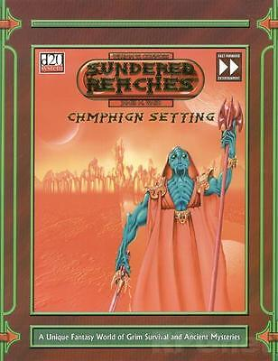 Sundered Reaches - Campaign Setting D20 -  RPG Softcover • 0.99£