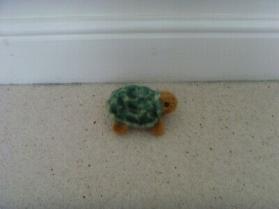 Turtle Soft Toy Green And Brown • 1.50£