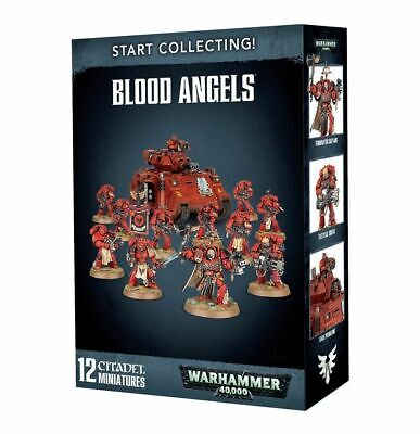 Start Collecting Blood Angels. Warhammer 40k.  • 49.99£