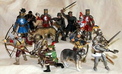 Papo Schleich Wilco Medieval Knights  Etc Figures Toy Soldiers • 13.99£