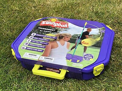 Swingball Tournament All Surface Tennis Outdoor Game With Base Unopened & Boxed • 45£