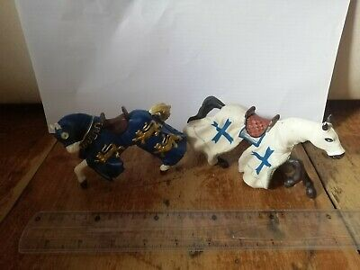 Papo Medieval Jousting Horses X2 (no Knights)  • 4.99£