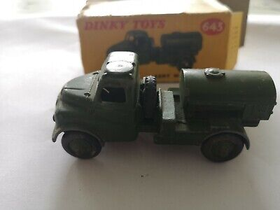 Dinky 643 Army Water Carrier, Austin With RASC Decals In Original Box • 5.50£
