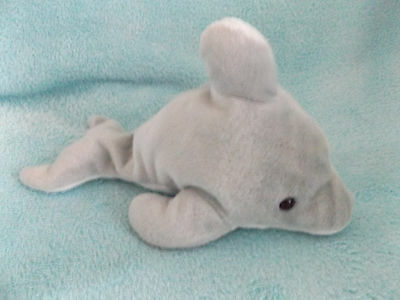Beautiful Soft Beanie 9  Dolphin Plush Toy Present Gift • 2.50£