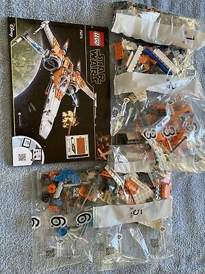 Lego 75273 Star Wars  Poe Damarons X Wing Fighter No Minifigures No Box Free P&p • 50£