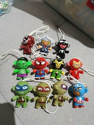 11 X Different Marvel Kinder Egg Toys In Amazing Condition  • 4£