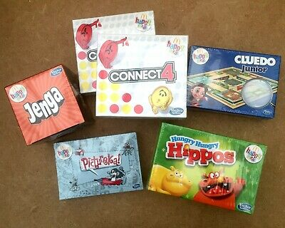 McDonald's Happy Meal Toys Hasbro Gaming 2019 Stock Clearance 6 Brand New Toys • 2£