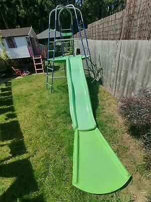 Kids Climbing Frame And Slide Used • 2.20£