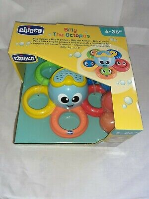 *BRAND NEW* Chicco Billy The Octopus 6-36 Months *MAKES BATH TIME FUN*  • 8.99£