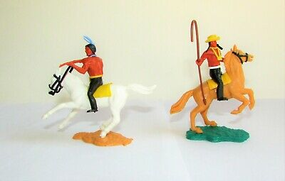 Timpo Indians On Horse X 2 • 8.99£
