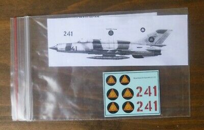 Mav Decals 1/72 Mozambique Air Force Mig-21 Fishbed • 2.95£