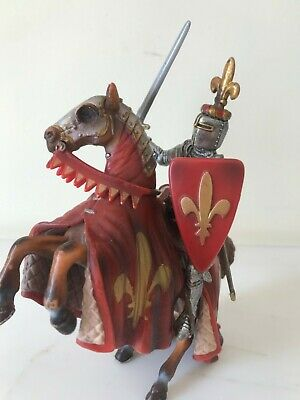 Schleich Knight And Horse, Medieval 2003 • 2.10£