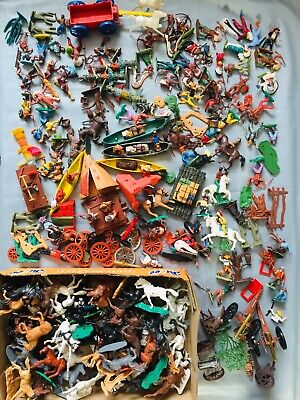 Repair Or Spare Cowboys & Indians  Job Lot Timpo Britains  Swoooet's And Herald • 55£